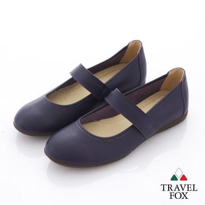 Travel Fox(女)  舞伶之美 平底娃娃旅狐休閒鞋 - 氣度紫