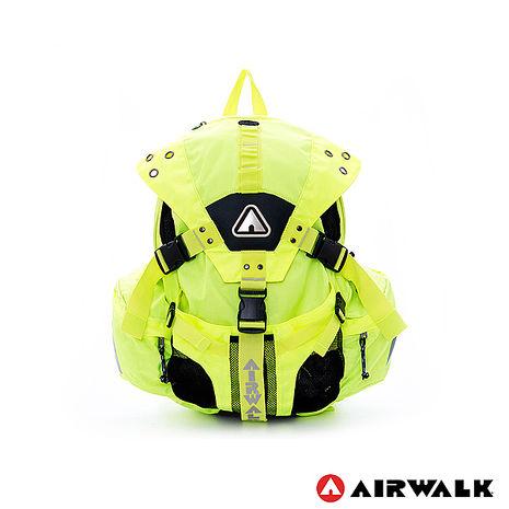 AIRWALK - 美式繽紛三叉扣後背包 - 美式黃