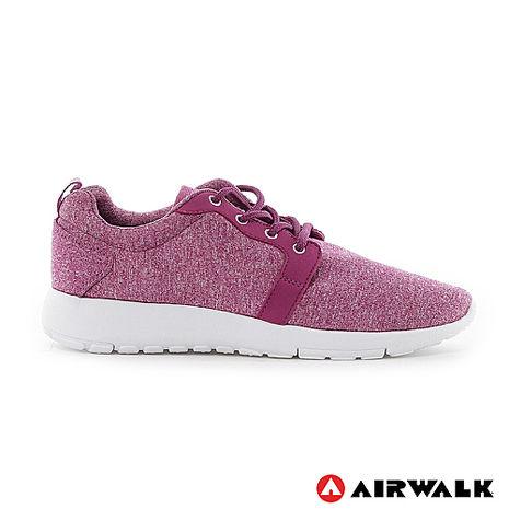 AIRWALK(女) - 無限挑戰舒適輕量慢跑鞋 - 中紫