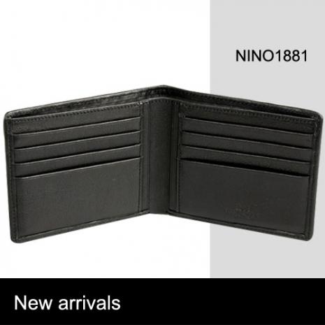 NINO1881時尚精品水波紋皮夾