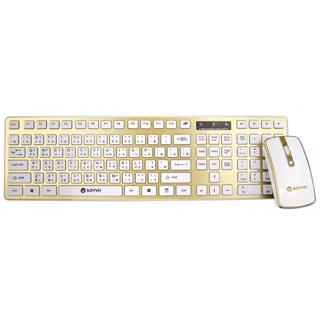 【KINYO】2.4GHz 時尚無線鍵鼠組(GKBM-885)