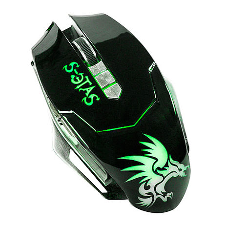 【KINYO】黑暗武士6鍵式電競專用有線滑鼠(GKM-808)