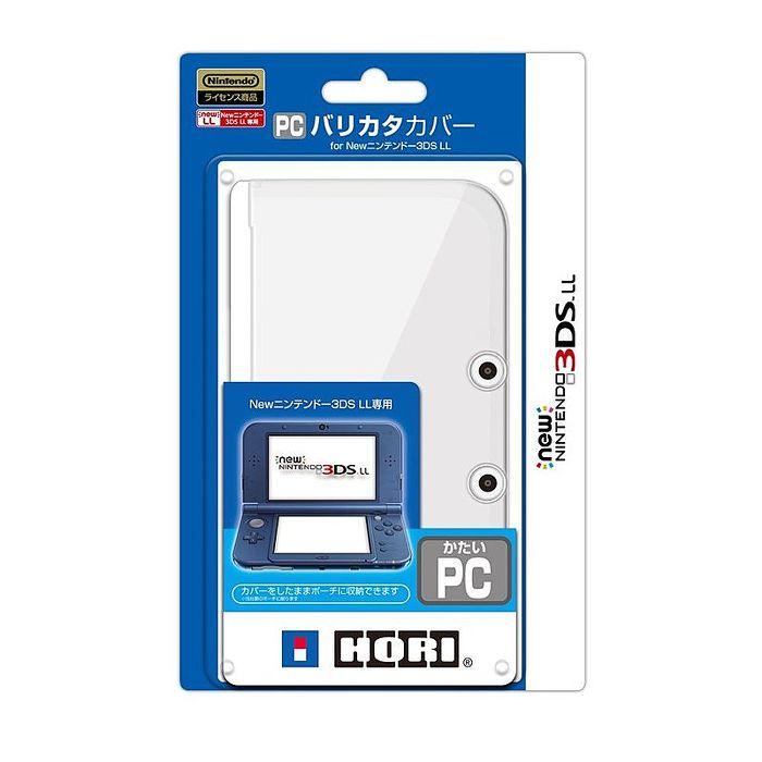 NEW3DSLL專用 HORI PC材質 保護套 水晶殼 保護蓋 透明款 3DS-427