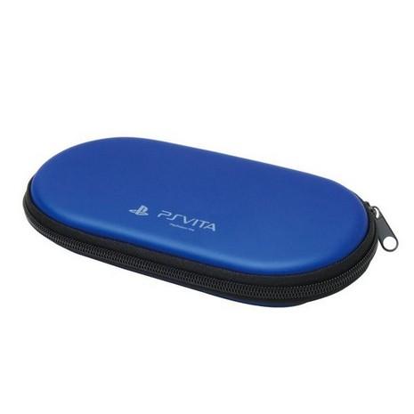 新款 PSVITA PCH-2000 1000 用 HORI 防撞包 抗摔包 硬殼包 PSV-130 藍色