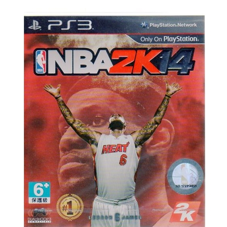 PS3 遊戲 美國職業籃球 NBA 2K14 (中文亞版)