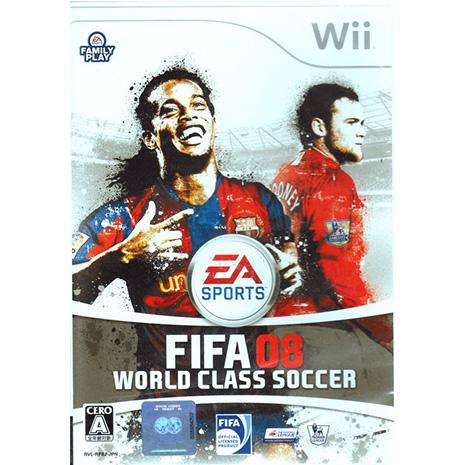 全新現貨中Wii遊戲 FIFA 08 國際足盟大賽 08 世界級足球 日文日版 Wii U日規可以執行