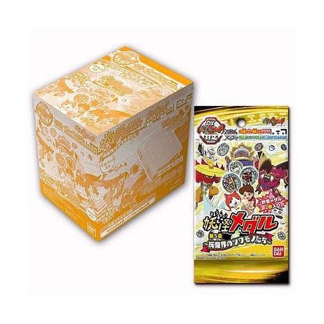 現貨中 妖怪手錶 妖怪pad 幽靈DX手錶白色用 徽章 硬幣 【第5章 妖魔界】 整盒12包 徽章可連動3DS遊戲