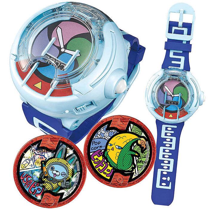 最新款對應全系列徽章 現貨中 日本原裝日文發音 妖怪手錶 DX U 幽靈手錶可插SD對應徽章硬幣聲光效果 徽章可連動3DS遊戲