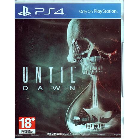 現貨中 PS4遊戲 直到黎明 Until Dawn 中文亞版