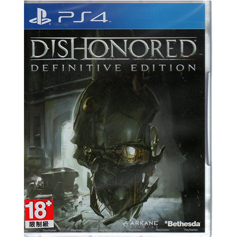 現貨中 PS4遊戲 冤罪殺機 決定版 Dishonored Definitive Ed 英文亞版