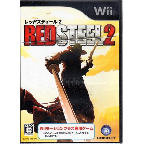 現貨中 Wii遊戲 赤色鋼鐵 2 Red Steel 2 日文日版 Wii U日規可以執行