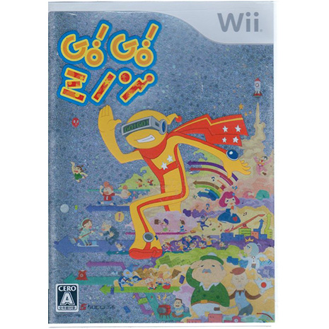 全新現貨中 Wii遊戲 米儂向前走 Go Go Minon 日文日版 Wii U日規可以執行