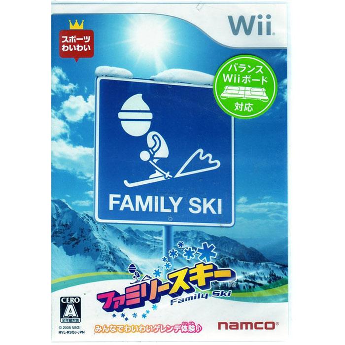 現貨中 Wii遊戲 家庭滑雪 Family Ski 日文日版 支援FIT平衡版 Wii U日規可以執行