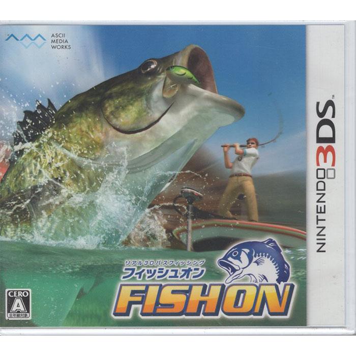全新現貨 3DS遊戲 釣魚樂無窮 FISH ON 純日版