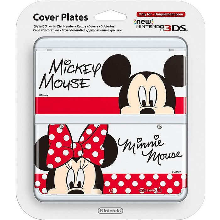 NEW 3DS專用 任天堂原廠 主機 上下 外殼 替換面板 迪士尼限定 New N3DS NO.073