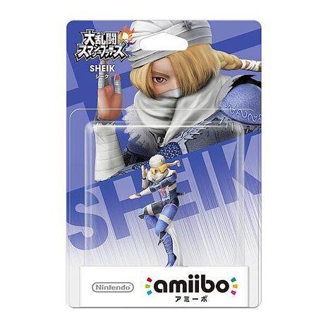 Wii U 任天堂明星大亂鬥 近距離無線連線 NFC 連動人偶玩具 amiibo 席克 SHEIK