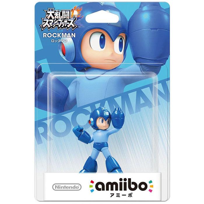 Wii U 任天堂明星大亂鬥 近距離無線連線 NFC 連動人偶玩具 amiibo 洛克人 ROCKMAN