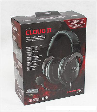【原廠公司貨保固兩年】PS4 Kingston 金士頓 HyperX Cloud II 電競耳機 7.1立體聲耳機 金屬灰