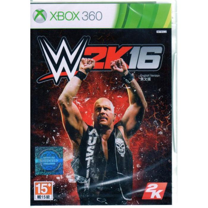 現貨中 XBOX360 遊戲 WWE 2K16 美國勁爆職業摔角 英文亞版
