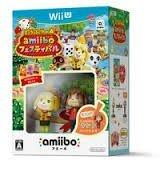 現貨中Wii U遊戲 動物之森 amiibo 慶典 Amiibo組合 同捆包 日文日版