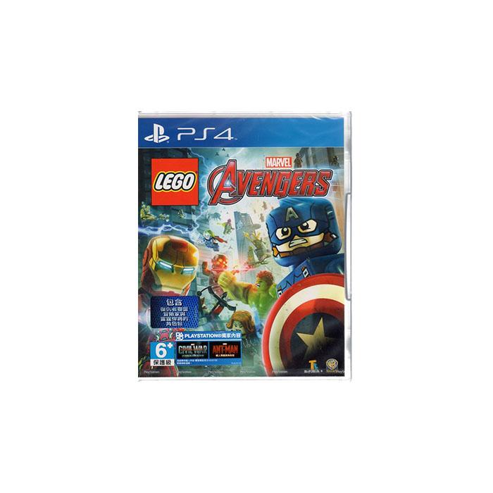 現貨中 PS4遊戲 樂高 復仇者聯盟 LEGO:Marvel Avengers 中文亞版