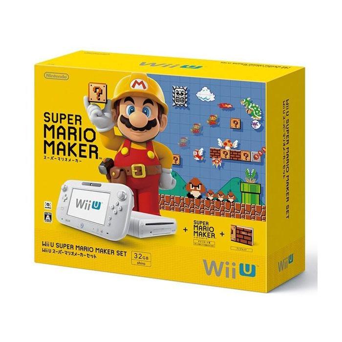 【平行輸入】現貨中 任天堂 日規主機 Wii U 32G 超級瑪利歐製作大師 主機同捆 白色款