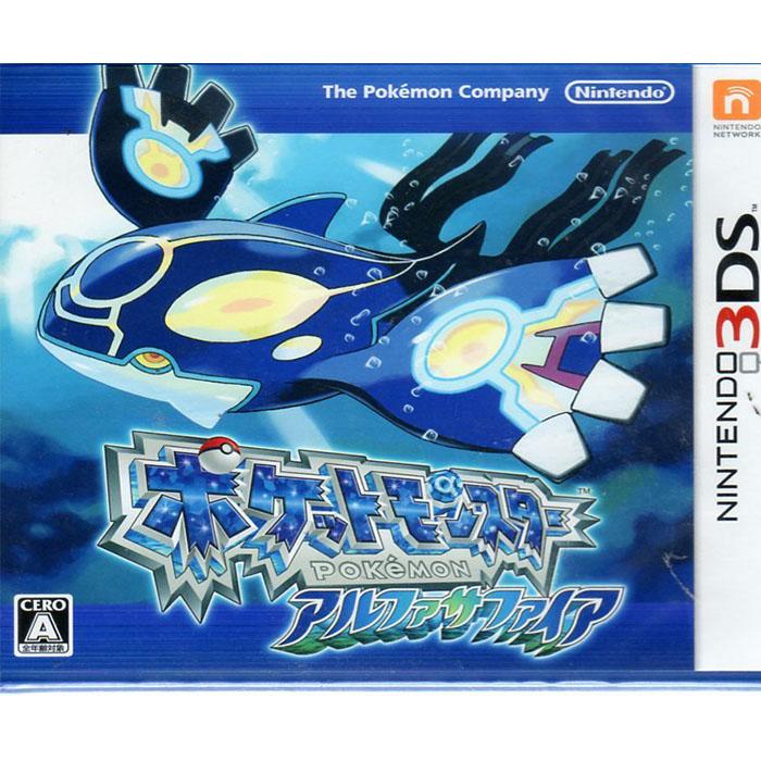 現貨中 3DS遊戲 口袋怪獸 神奇寶貝 始源藍寶石 Pocket Monster 日文日版