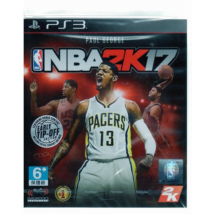 現貨中 PS3遊戲 美國職業籃球 NBA 2K17 中文版