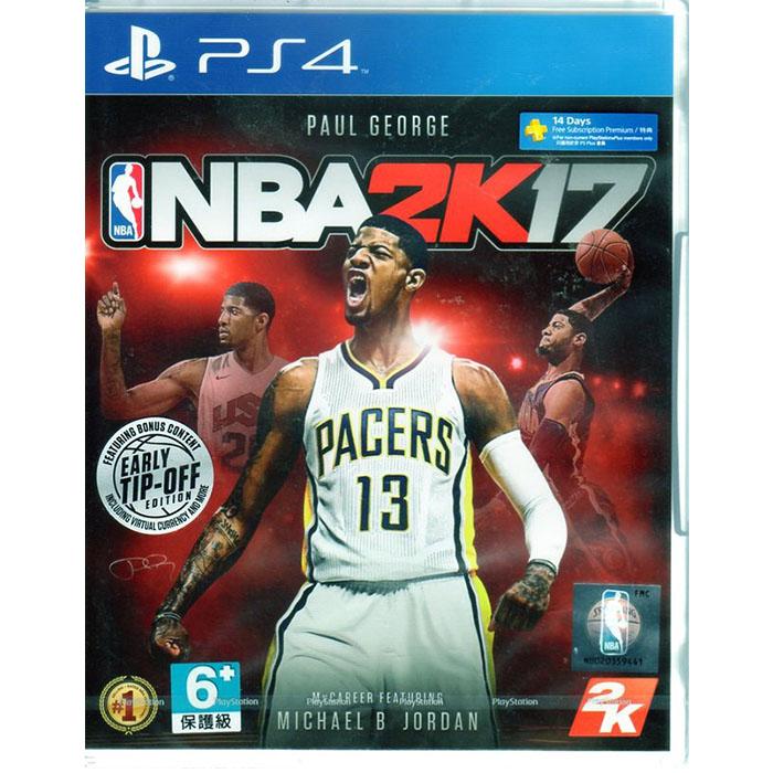 現貨中 PS4遊戲 美國職業籃球 NBA 2K17 中文版