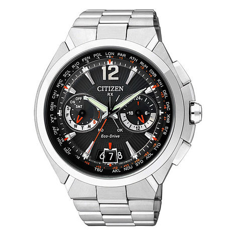 【CITIZEN】絕對紳士 光動能萬年曆衛星對時腕錶(CC1091-50E)