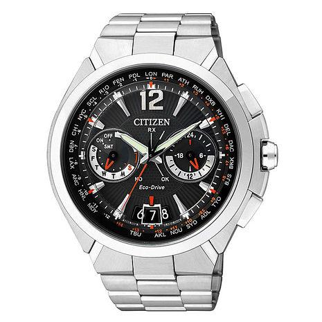 【CITIZEN】絕對紳士 光動能萬年曆衛星對時腕錶 (CC1091-50E)