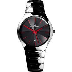 ~MAX MAX~繽紛簡約 陶瓷腕錶MA2S5091~B~黑紅38mm