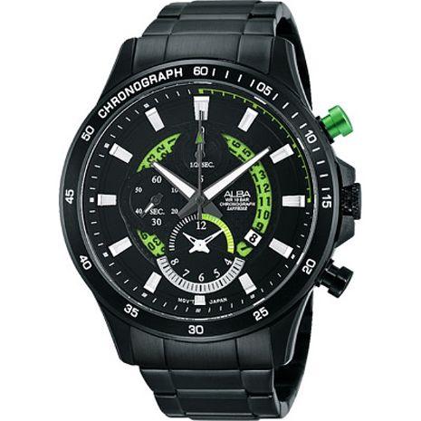 【ALBA】疾速奔馳計時腕錶 (YM92-X257G/AF8S81X1)