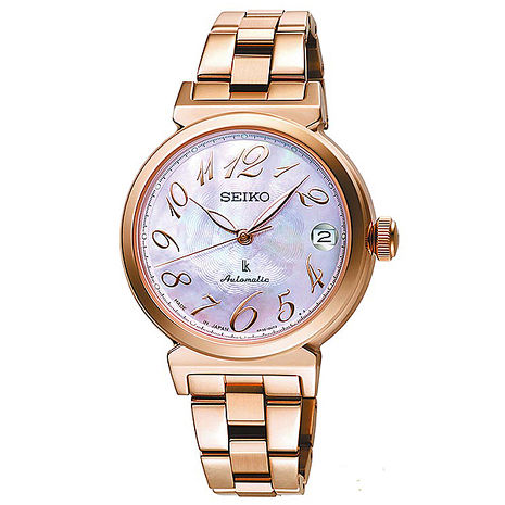 【SEIKO精工】LUKIA 時光的禮物機械腕錶/廣告款(SRP870J1/4R35-00J0P)