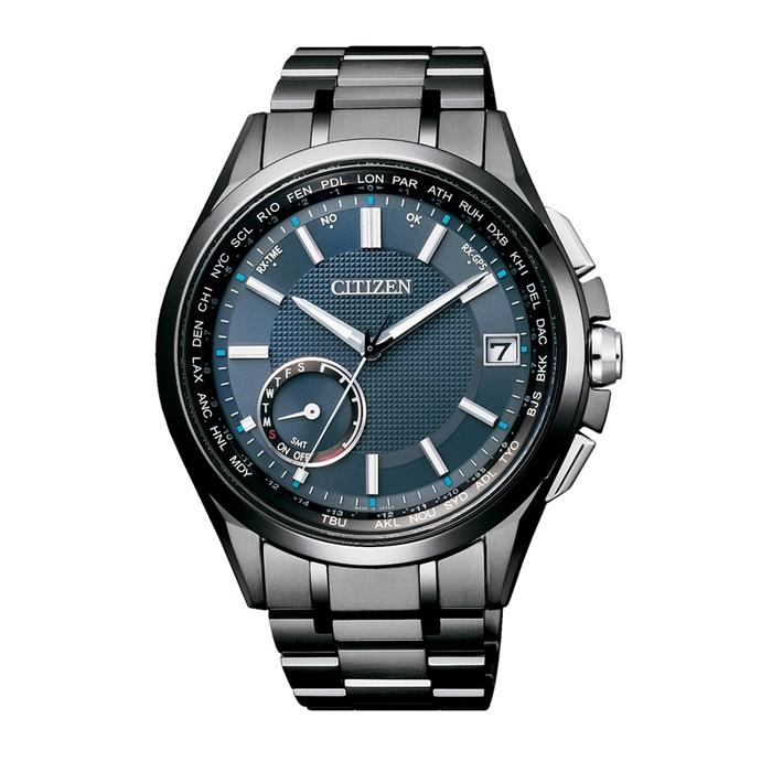 【CITIZEN 星辰】40周年限定GPS衛星對時光動能鋼帶腕錶(CC3015-57L)