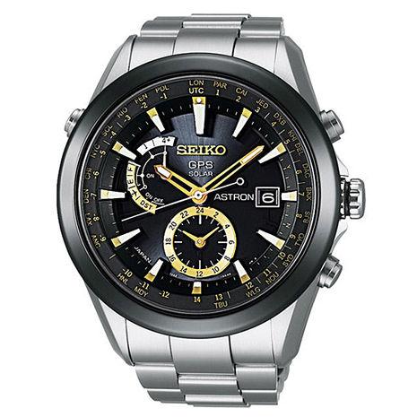 【SEIKO精工】ASTRON GPS衛星校正 太陽能計時腕錶(7X52-0AA0K/SAST005G)