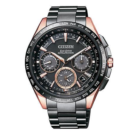 【CITIZEN星辰】限量款光動能GPS衛星對時錶鈦金屬腕錶(CC9016-51E)