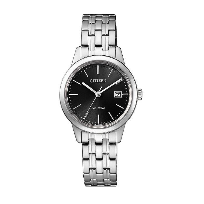 【CITIZEN 星辰】Eco-Drive 光動能都市輕時尚PAIR 對錶系列-女(EW2230-81E)