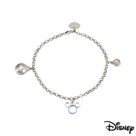 【迪士尼金飾】吉祥如意純銀手鍊
