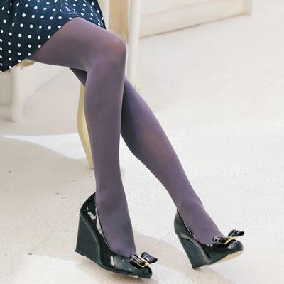 【華貴絲襪】90丹魔力魅彩超彈性保暖褲襪-鐵灰色(2雙)