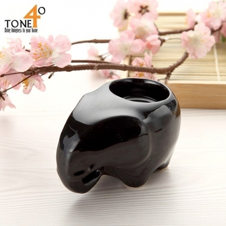 【Tone 40】【釉彩象】蠟燭台
