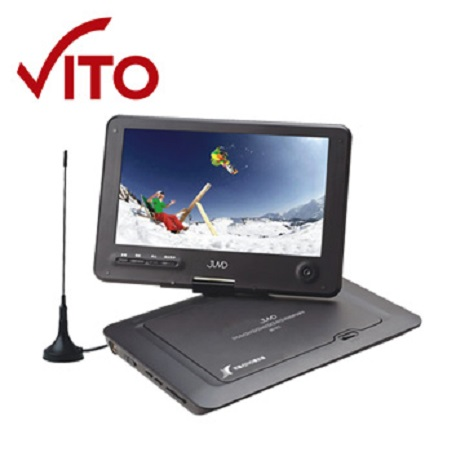VITO 9吋DVB-T數位電視/RMVB/DVD多媒體播放機(JMV-91D)