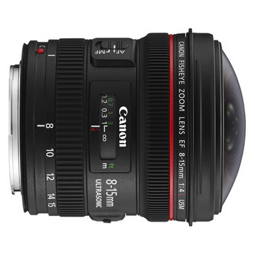 Canon EF 8-15mm f/4L fisheye USM*(平輸)-送專用拭鏡筆