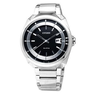 CITIZEN 時尚風格光動能腕錶 AW1010-57E