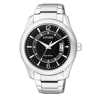 CITIZEN 紳士個性光動能腕錶 AW1030-50E