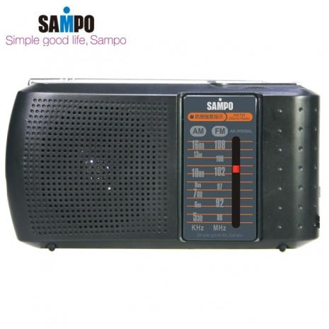 SAMPO聲寶 收音機 AK-W909AL(黑色)