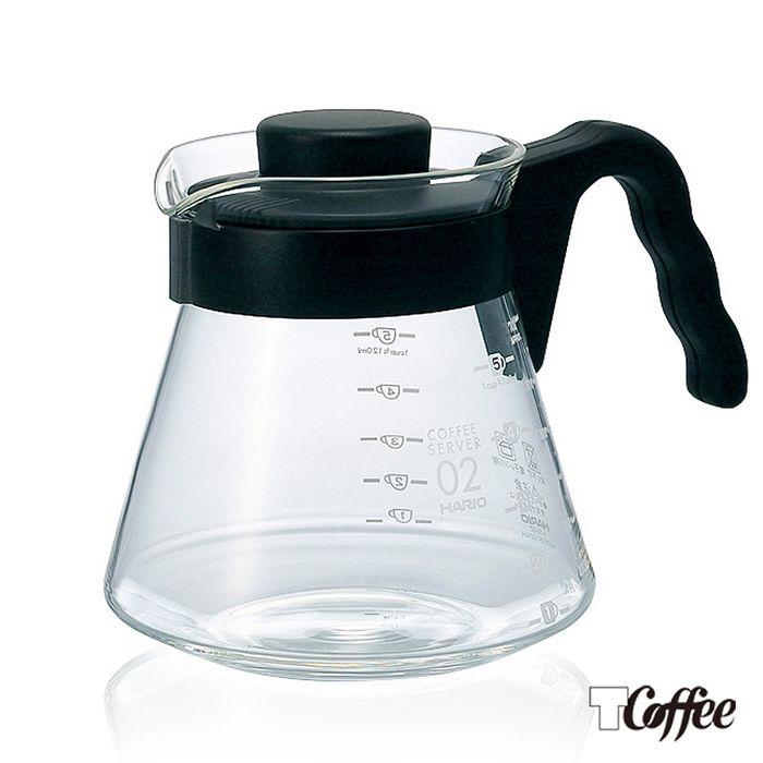 【TCoffee】HARIO-V60好握02黑色咖啡壺