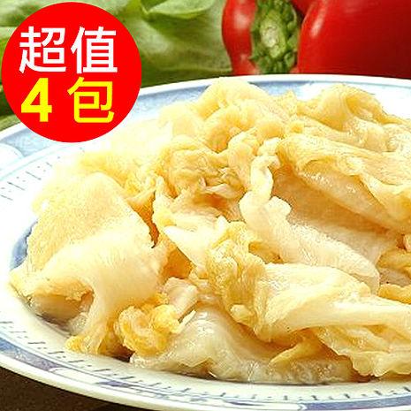 【金門老農莊】酸白菜4包(600g/包)