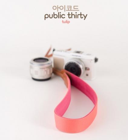 ICODE 幸運草 最流行的彩色相機背帶 PUBLIC 30  [鬱金香色/P1411]