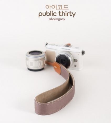 ICODE 幸運草 最流行的彩色相機背帶 PUBLIC 30  [暴風灰/P1380]